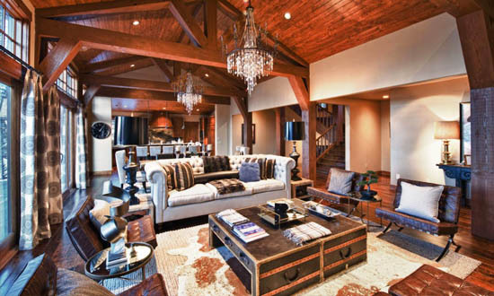 Lodge Inspired Home Interior Decor