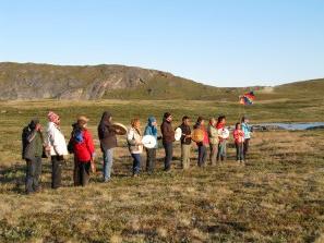 Greenland ceremony