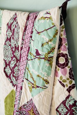 joel dewberry pendant quilt kit sewing pattern