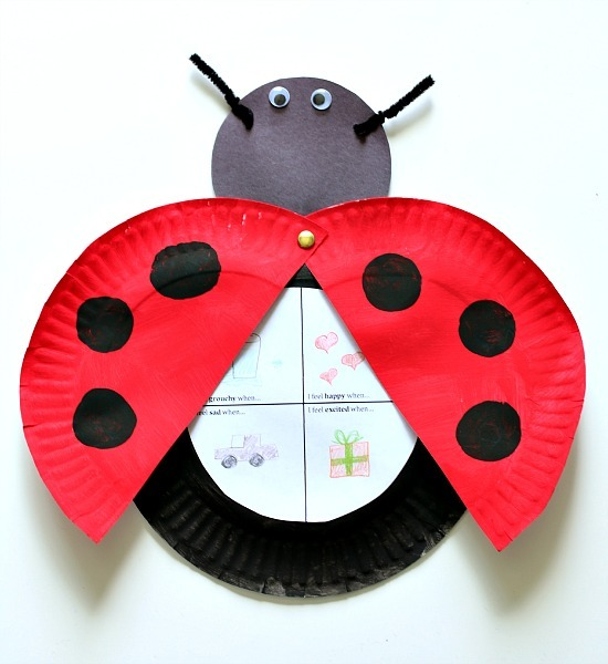 image about Printable Ladybug known as Ladybug Craft with No cost Printable (Based mostly upon The Grouchy Ladybug)