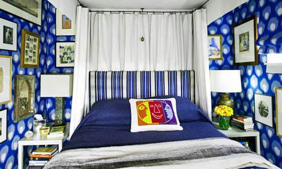 Pattern Indigo Peter Dunham Apartment Interior Decor