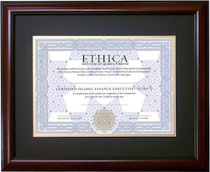 Ethica s CIFE Certificate