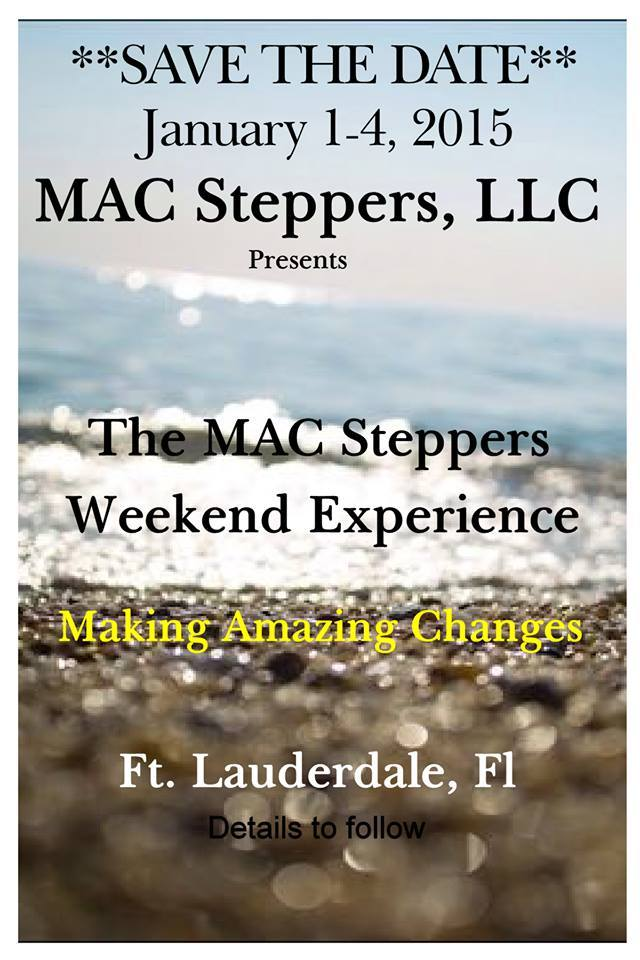 MAC Steppers SaveTheDate