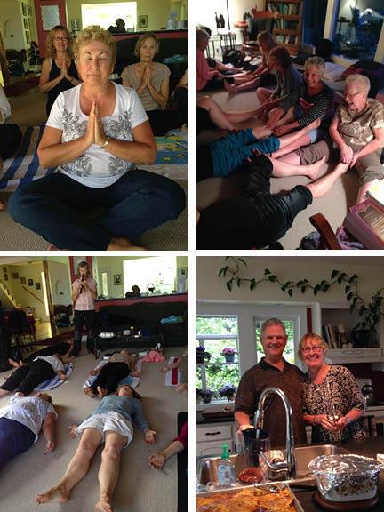 meditation retreat photos