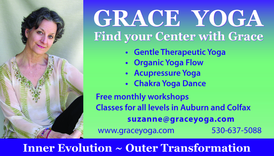 SuzanneGraceYoga Placer Theatre ad