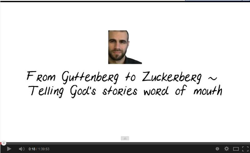 From Gutenberg to Zuckerberg - Telling God s Stories  Word of Mouth