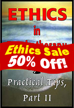 Ethics in Psychotherapy 2
