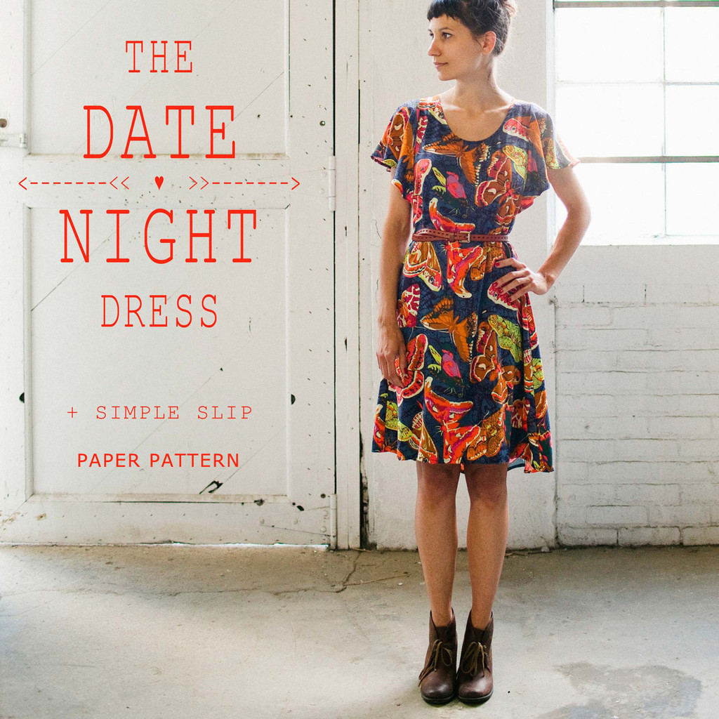 april rhodes the date night dress sewing pattern