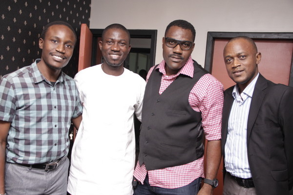 Tolu Ogunlesi  Ayeni Adekunle  Tony Kan and Olumide Iyanda