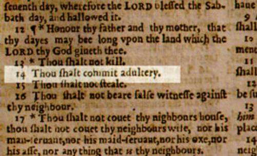 wicked bible