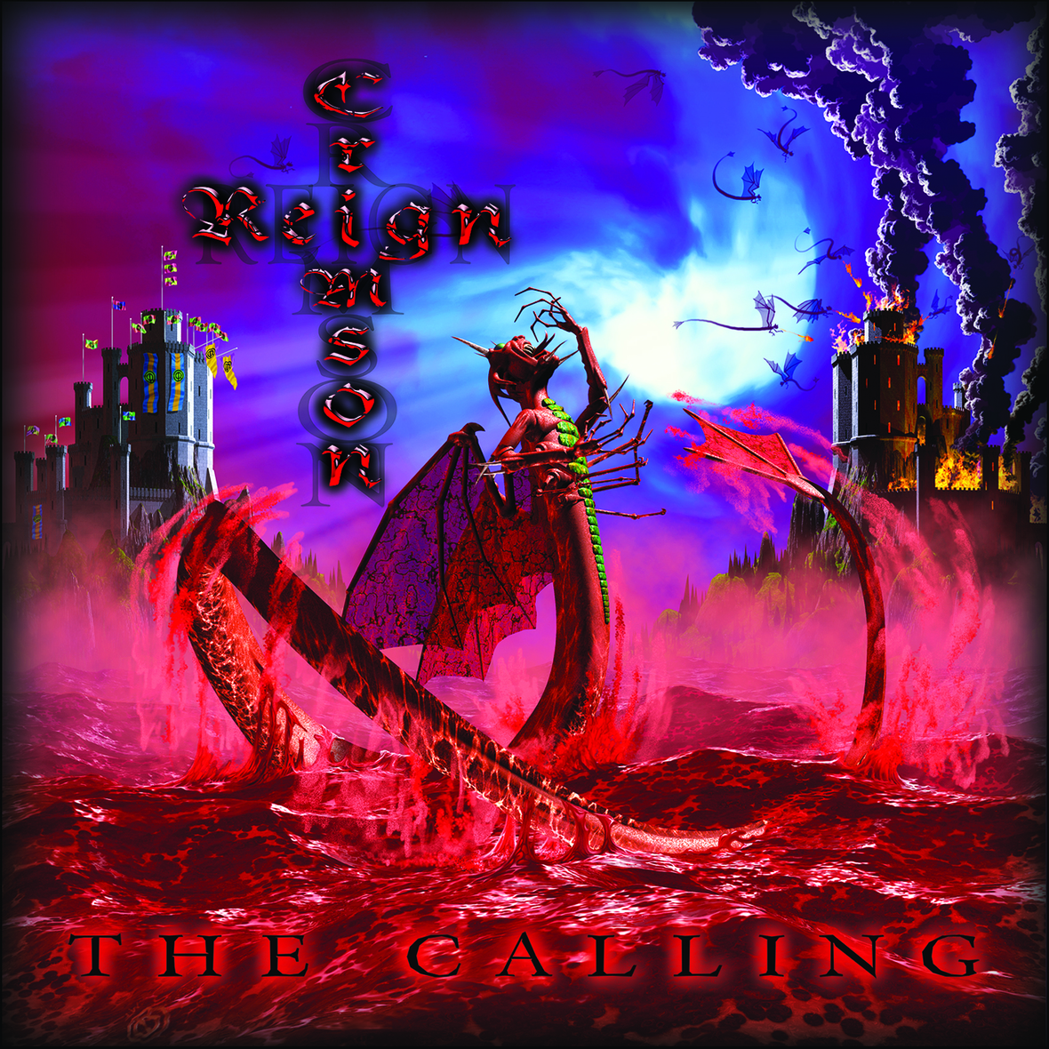 Crimson Reign - The Calling cd cover