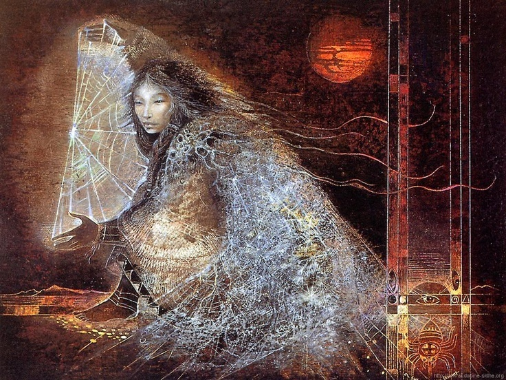 Spider Woman by Susan Seddon Boulet
