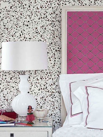 Abstract Dots Interior Decor