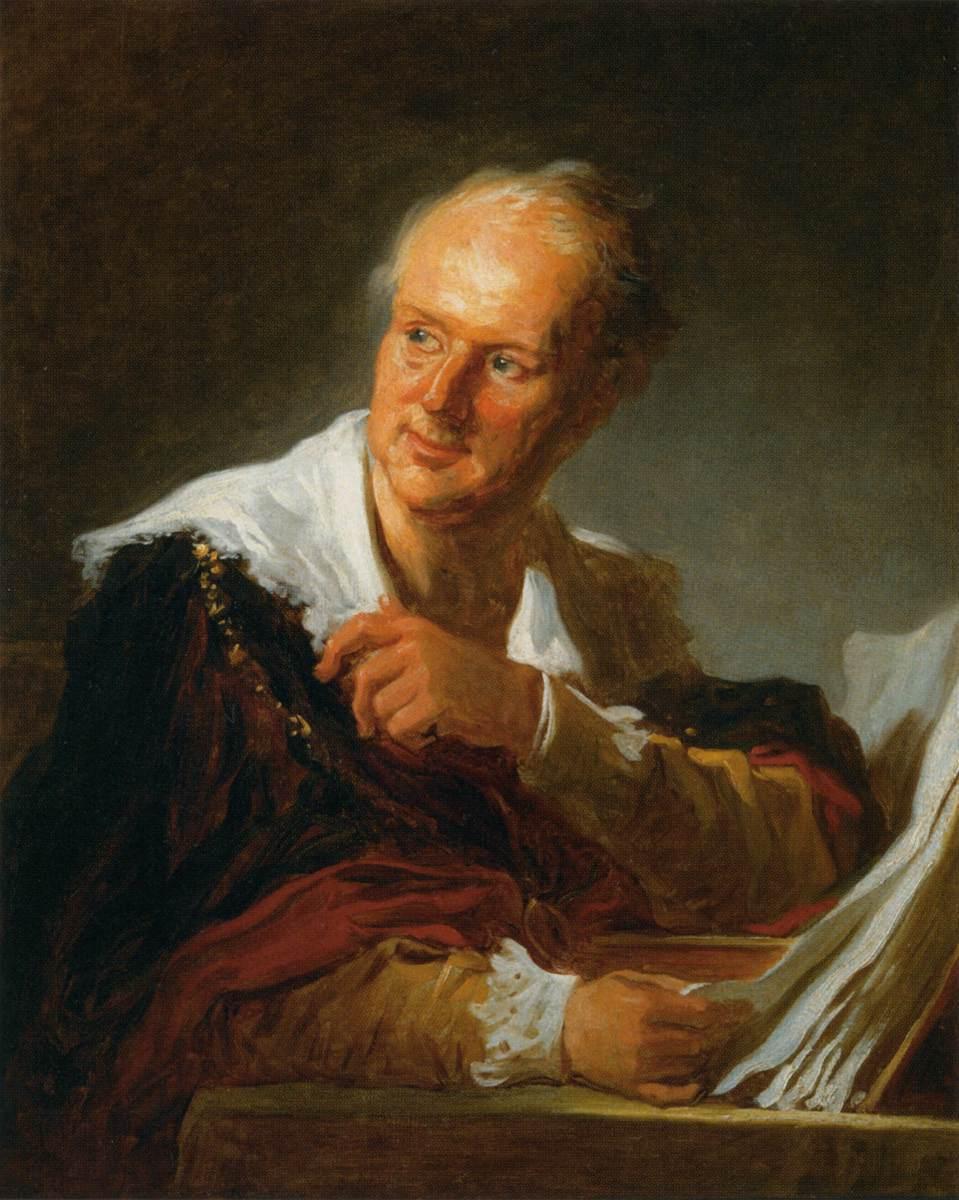 Jean-Honore Fragonard - Denis Diderot  Fanciful Figure  - WGA8064