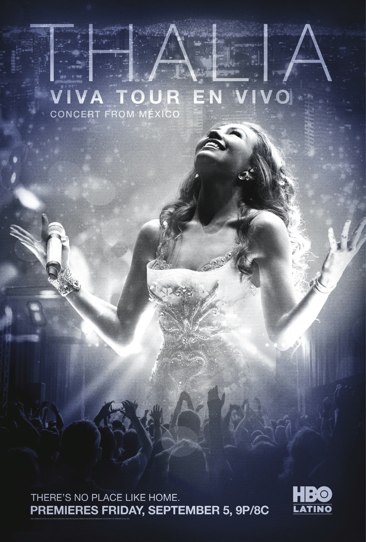 THALIA Viva Tour English Key Art