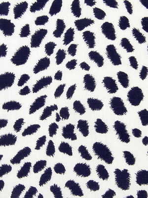 Leopard Path - Navy Blazer