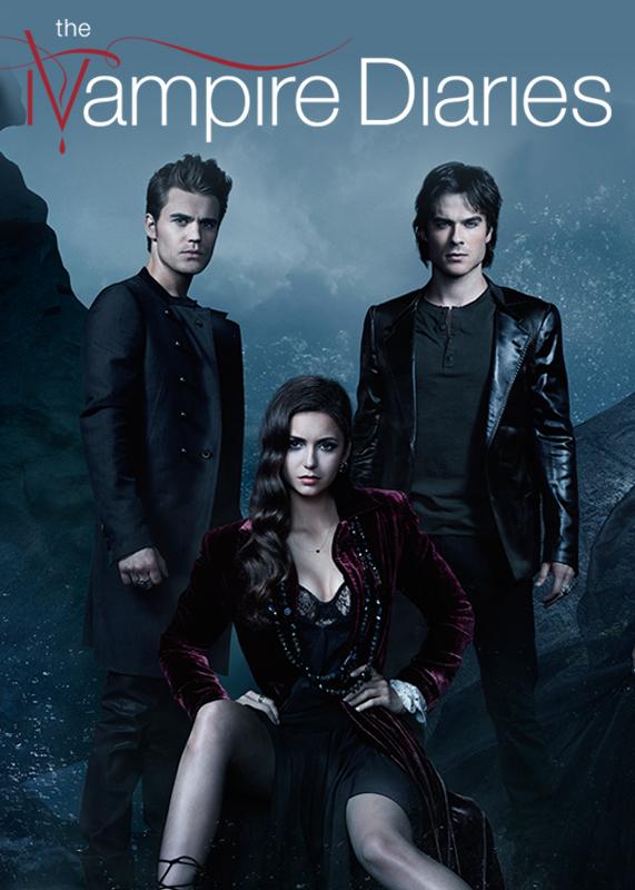 Vampire Diaries Netflix Poster The Vampire Diaries Ne...