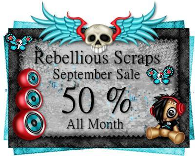 Rebellious Scraps September Sale