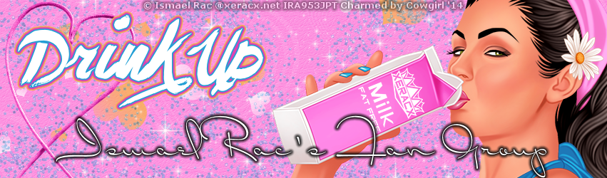 Ismael Drink Up Banner