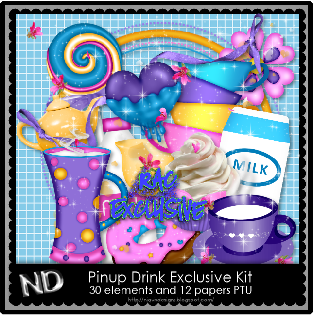NQ-PINUP DRINK HD EXCLUSIVE KIT PREVIEW 2