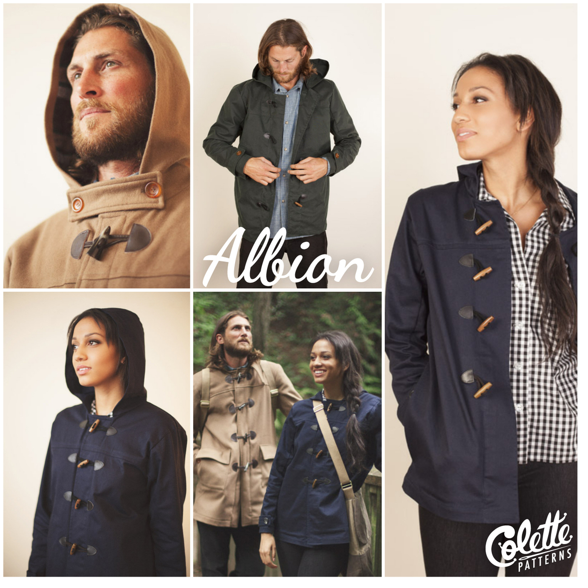 colette patterns albion coat sewing pattern