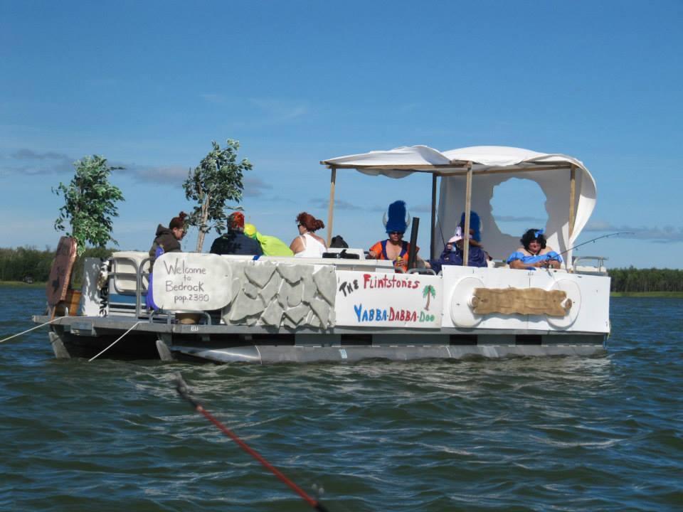flintstone boat