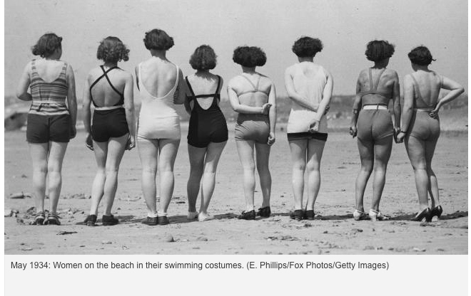 May 1934 Pinups of the Past