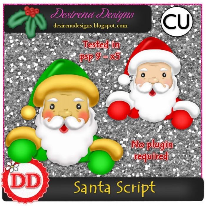 DesirenaDesigns Santa ScriptCU PV-700x700