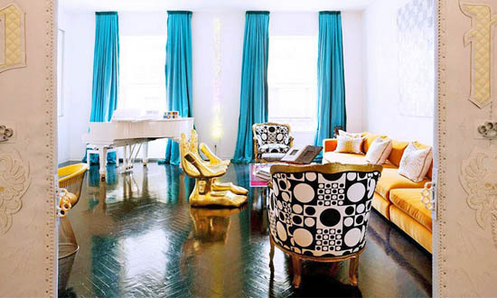 Statement Drapery Budget Friendly Interior Decorating