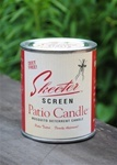 Skeeter Screen Patio Candle