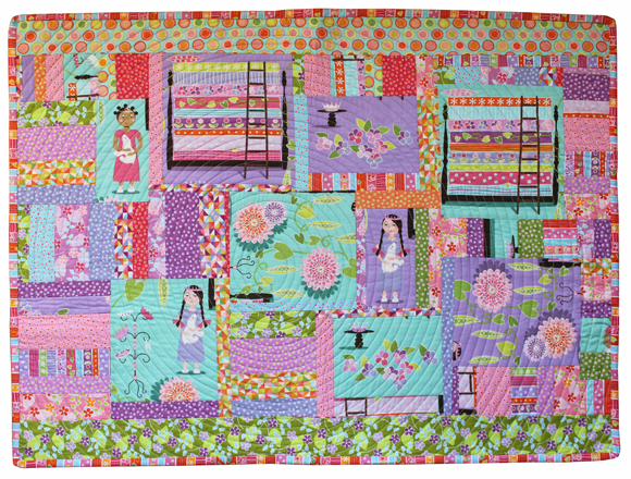 princess-the-pea-wallhanging