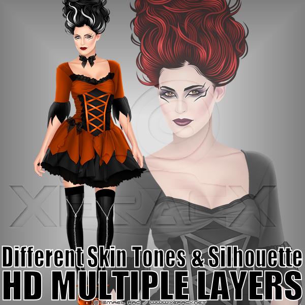LadyHalloweenPV