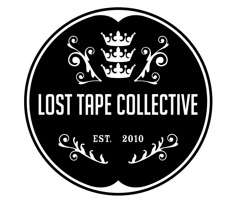 lost tape collective b w logo small