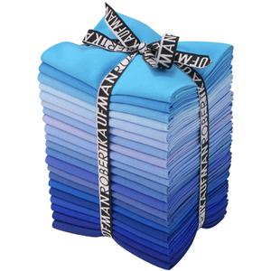 1376 kona solid fat quarter bundle in true blue