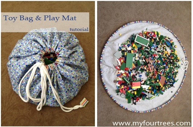 toy bag and play mat cover thumb 2