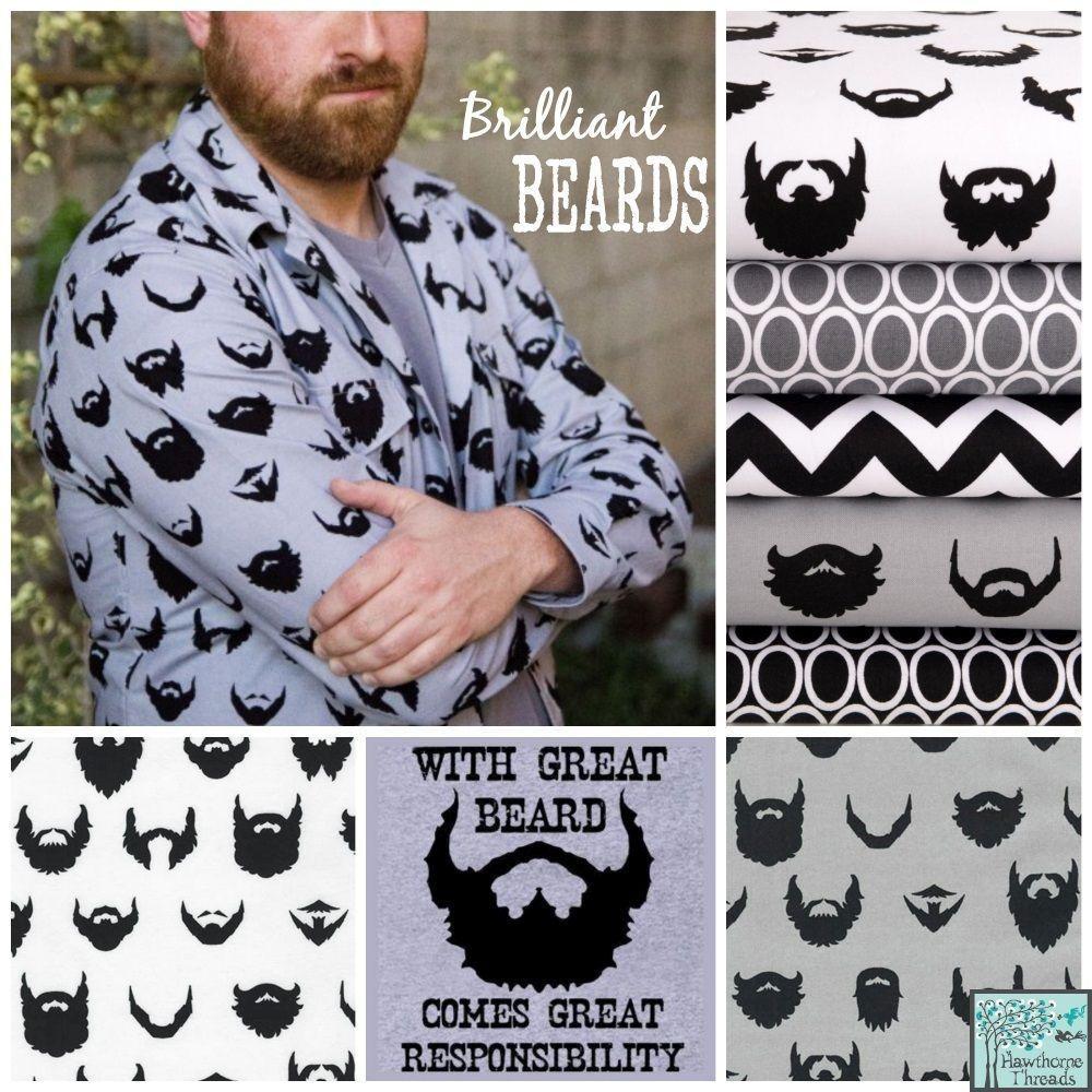 Brilliant Beards Poster