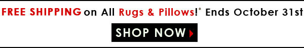 Free shipping banner rugs pillows