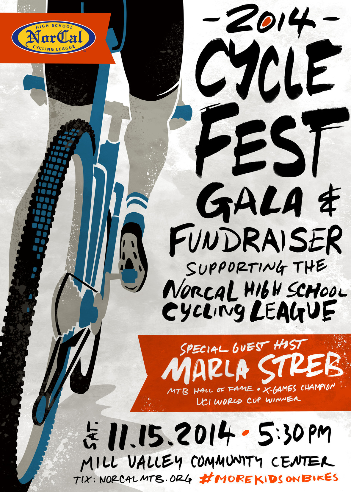 Press Release: Marla Streb to host NorCal League CycleFest on 11/15/14