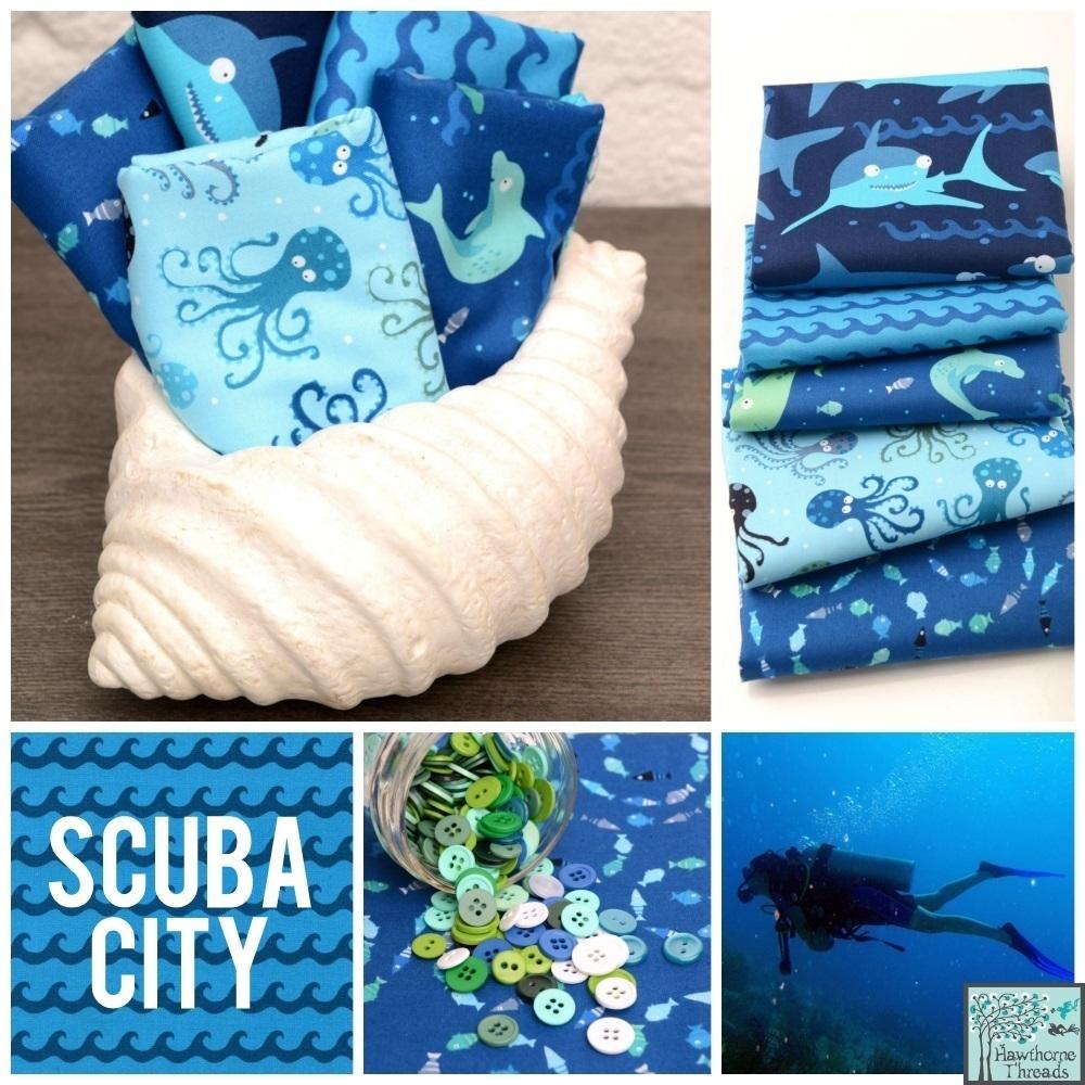 Scuba City Poster