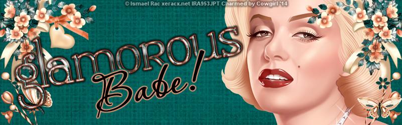 glamorous babe banner