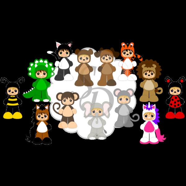 SD halloween cuties 2014-all