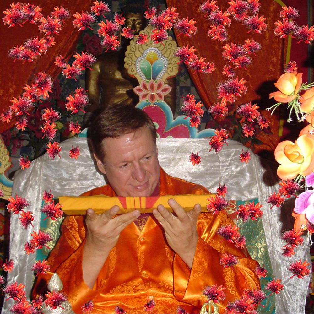 Buddha-Maitreya-the-Christ-with-flowers