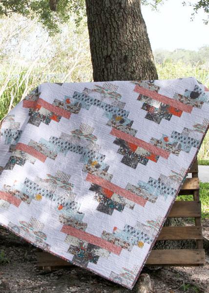 katarina roccella stamped quilt kit sewing pattern