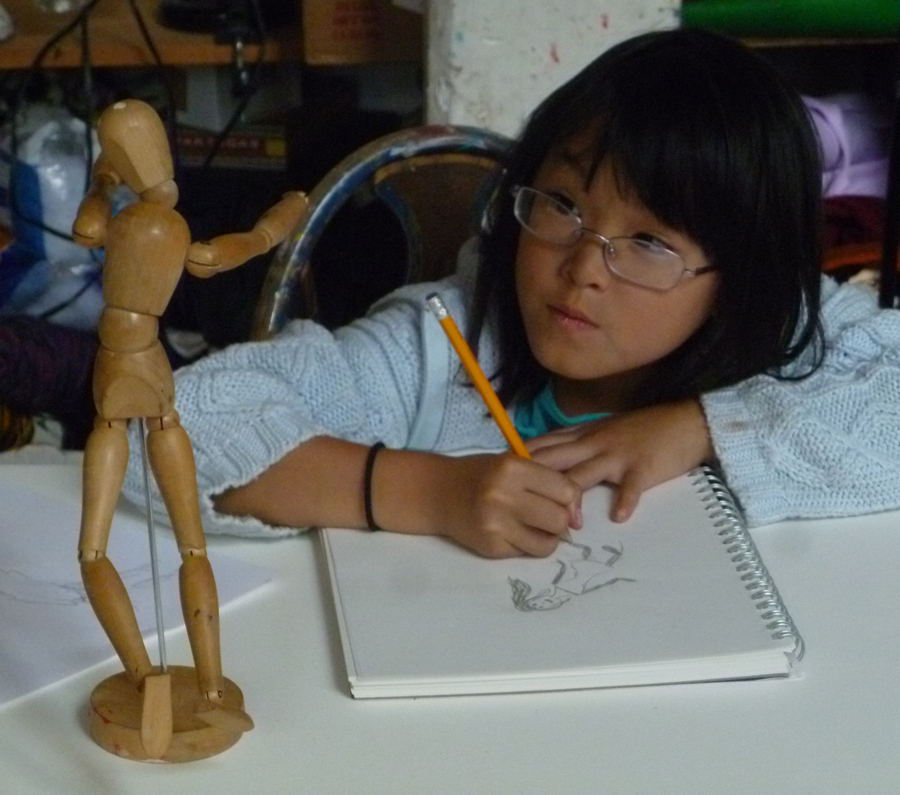 mm crpd josie drawing the manniquin