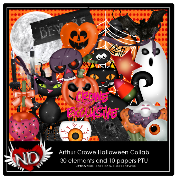 NQ-ARTHUR CROWE HALLOWEEN COLLAB PREVIEW