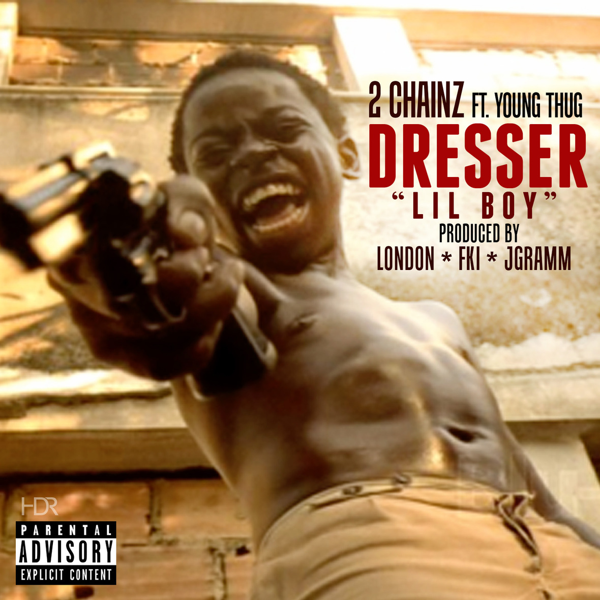 2 Chainz ft Young Thug - Dresser Lil Boy artwork