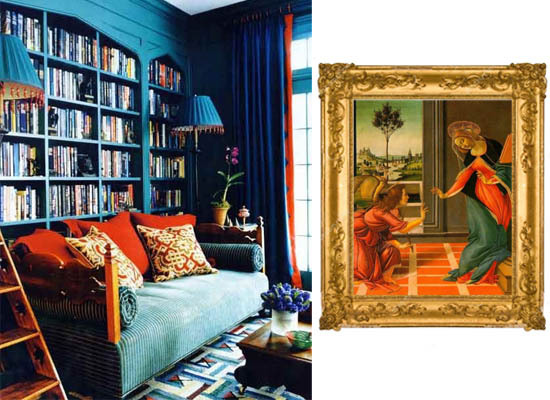 Renaissance Inspired Colors Interior Decor Trend 2015