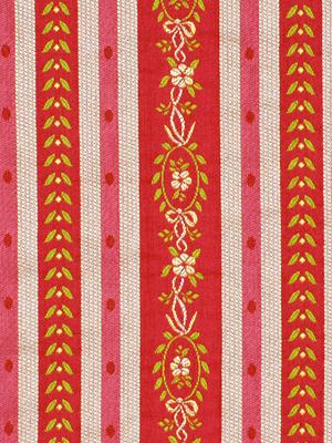 Rona Stripe - Cayenne