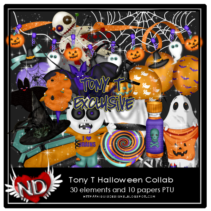 NQ-TONY HALLOWEEN COLLAB PREVIEW