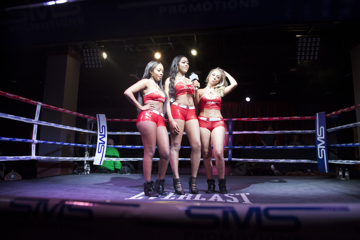 Ring girls from framing beauty